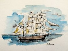 Have Watercolors Will Travel: Just Like the 1800s. But with iPhones