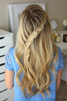 3 Fall Half Up Hairstyles