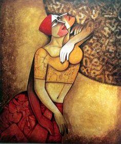 Naval Kishor - Acrylic on Canvas