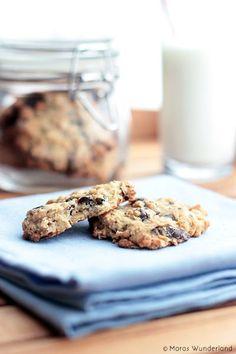 {scroll down for the English recipe} Die zweiten Cookies an diesem Wochenende! Die Schokoladencookies waren ja schon echt wahnsinnig lecker, aber diese Variante mit Schokoladenstückchen... - weiter lesen -