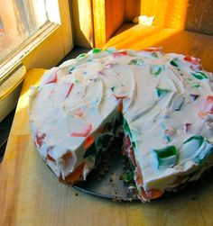 Stained Gl Cake I Literally Was Told About This By A Co Worker Last