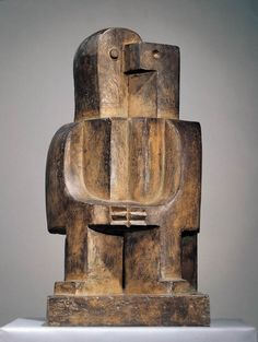 The Estate of Jacques Lipchitz  Seated Man      Bronze      20 7/8 x 11 x 10 3/4 inches      Edition of 7        1922