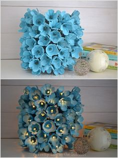 31 Eggs Carton Idea - crafts - diy