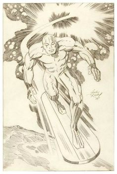 Silver Surfer by Jack Kirby *