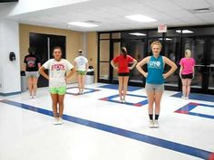 2011 CGHS Cheer Clinic Routine- Shake it Up! Definitely one song the little will love---