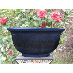 Griffith Creek Designs Round Pot Planter & Reviews | Wayfair