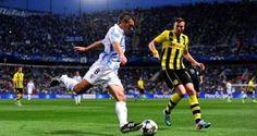 Borussia Dortmund   Malaga Şampiyonlar Ligi Maçı Geniş Özeti