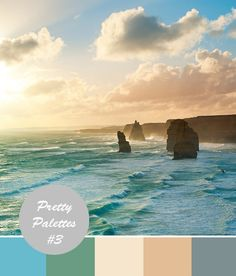 Wedding Color Palettes #3: Beach Wedding Colors