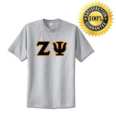 Zeta Psi Standards T-Shirt - $14.99 Gildan 5000 - TWILL