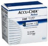 ACCU-CHEK Aviva Test Plus Strips, 100 Count