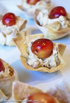 White Chocolate Dessert Cups (SRC) for Chocolate Monday! - The Heritage Cook®