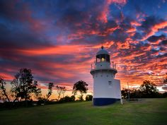 The Little Lighthouse  by Paul Emmings - Overlooking Lighthouse Beach , Ballina , NSW , Australia.