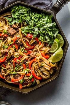 Who likes their food spicy? If that's you, these Pad Kee Mao (Drunken Noodles) are a must! Pair them with a yummy Rosé or Riesling. Best Pasta Recipes, Wine Recipes, Asian Recipes, Cooking Recipes, Healthy Recipes, Ethnic Recipes, Savoury Recipes, Pork Recipes, Healthy Meals