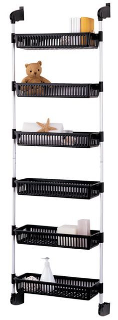 Overdoor Cabinet Storage Bin Unit