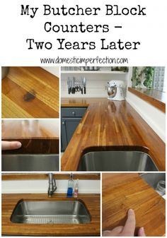 How To Remove Stains From Butcher Block Countertops | Remove Stains, Butcher  Blocks And Countertops