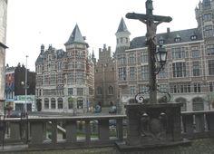Looking from Steen Castle - Antwerp, Belgium