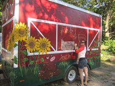 mandeeblogs: Holme's Farm Mobile Farm Stand