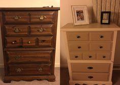 DIY Refinished dresser!