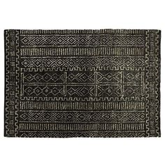 Description: Made from hemp these rugs have been meticulously hand tufted in a beautiful tribal design. Edges finished with tassels. Hand crafted in India.Material: HempColours Available: Black/Natural Detail, Natural/Black x x (approximately) Homewares Online, Jute Rug, Tribal Rug, Floor Rugs, Boho Decor, Home Accessories, Textiles, Flooring, Rustic