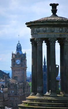 Calton Hill # Edinburgh # Scotland