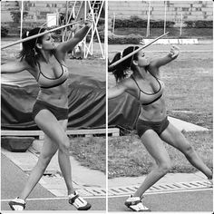 """@lerynf  Leryn Franco — 37,000 followers  The javelin is one of those sports that most of us don't really ever think about. But, women who throw spears for a living have some serious muscles. Case in point? Olympic athlete Leryn Franco. Her model-worthy pics paired with her intense exercise videos show she lives by the """"work hard, ..."""