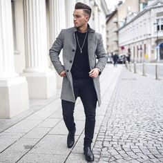 """487 Likes, 40 Comments - AVRAMOVIC ZORAN (@avramov.zoran) on Instagram: """"Coats Spent some time in the city with @davidxperic Have a nice Sunday evening! ___________…"""""""