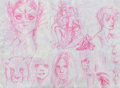 Sketches Sketches Sketches by Sami06 on deviantART