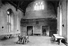The Hall at Penshurst Place from Ancestral Homes of Noted Americans by Anne Hollingsworth Wharton (1915) - Penshurst Place - Wikipedia, the free encyclopedia