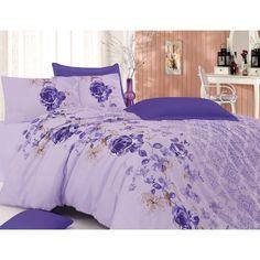 Minteks Ange Purple Nevresim Takımı 200x220 cm