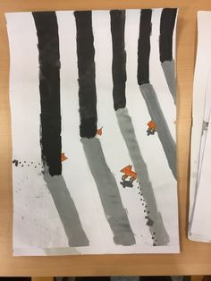Licht & Schatten: Fuchs im Schnee - SCHÖN.INK - Kreatives und Schönes. Fox In Snow, Realistic Pencil Drawings, Bright Side Of Life, Art Drawings Beautiful, Winter Is Coming, Elementary Art, Tree Art, Art Projects, Concept