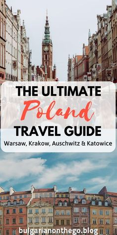The ultimate travel guide to discovering Poland Learn what to see where to stay what and where to eat and what to do in Warsaw Krakow and Katowice Visit Auschwitz and lea. Best Travel Guides, Europe Travel Guide, Travel Tips, Travel Destinations, Travel Hacks, Travel Packing, Holiday Destinations, Visit Poland, Poland Travel