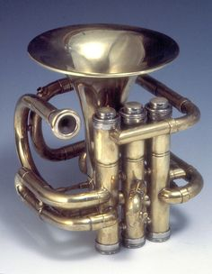 Unique metal art and sculpture handcrafted in fine detail by Jeremy Maronpot. Repousse and chasing, Sheet metal forming, wall art, welding and fabrication. Trombone, Brass Instrument, Trumpet Instrument, Old Musical Instruments, Trumpet Music, Band Nerd, French Horn, Brass Band, World Music