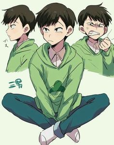 illustration, osomatsu-san, and art image