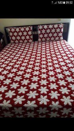 Crochet Bedspread, Baby Afghan Crochet, Crochet Quilt, Tunisian Crochet, Crochet Squares, Crochet Granny, Crochet Blanket Patterns, Crochet Cow, Crochet Afgans