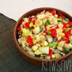 Салат из кукурузы - Сыроедение, рецепты и диеты - Rawsay