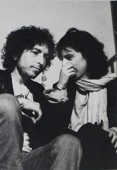 Bob Dylan and Patti Smith.