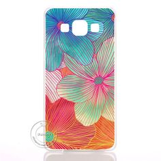 Mandala Flower Datura Floral Clear Hard Plastic Case Cover For Samsung Galaxy A3 A5 A7 A8 J1 J5 J7 2016 A300 A500 A700
