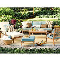 Ballard Designs Ceylon Teak Sofa 1200-sofa 860-loveseat 489-chair, 670 with ottoman 250-side table