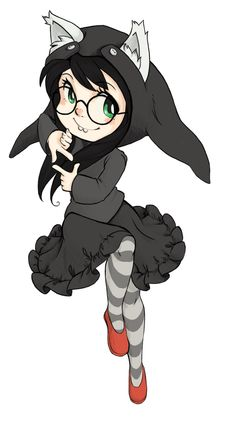 Jade Harley from Homestuck. ~ lol she looks like my daughter, Mackenzie
