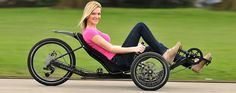 Recumbent Trike Store Laid Back Cycles in Sacramento CA offers full range of KMX recumbents including Venom and K-3 Youth Trike with best price guarantee.
