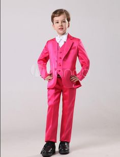Hot Handsome Cute Boys Formal Occasion Attire Classic Design Kid Dress Suit Birthday Party Prom SuitJacket+Pants+Tie+Vest No:30 Boys Baptism Outfits Boys Designer Clothes From Good Happy, $52.36| Dhgate.Com Kids Dress Suits, Mens Dress Outfits, Ugly Outfits, Men Dress, Boys Wedding Suits, Wedding Party Dresses, Wedding Attire, Little Boy Tuxedos, Prom Suit Jackets