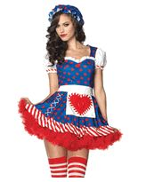Leg Avenue Costumes 83777 - 2 PC. Darling Dollie Costume