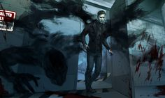 Terrible Horror by vicious-mongrel on DeviantArt Outlast Walrider, Outlast Game, Outlast Horror Game, Good Horror Games, Horror Video Games, Creepypasta, Waylon Park, Creepy Games, The Evil Within