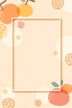 Frame on an orange patterned background with design space vector | premium image by rawpixel.com Poster Background Design, Background Patterns, Instagram Frame Template, Food Graphic Design, Vintage Typography, Vintage Logos, Aesthetic Pastel Wallpaper, Cute Backgrounds, Flower Frame
