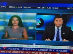 In diretta da #lineamercati #francescocaruso #marinavalerio canale 507 Sky