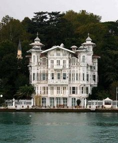 seaside house in Istanbul, Turky