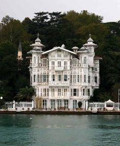 seaside house in Istanbul, Turky