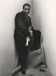 Fotostiftung: Irving Penn Louis Armstrong 1948