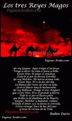 Los tres Reyes Magos - Rubén Darío