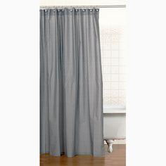 Teyo's Tires Cotton Shower Curtain